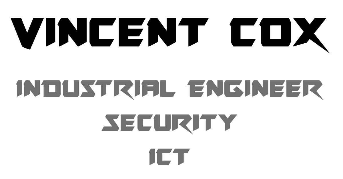 vincentcox com - Security Engineer & Ethical Hacker